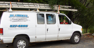 Blaisdell Construction Truck